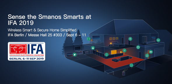 Sense the Smanos Smarts at IFA 2019